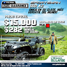 Sportsman 550 X2